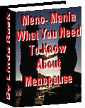Ebook cover: Meno-Mania
