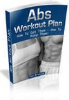 Ebook cover: Abs Workout Plan