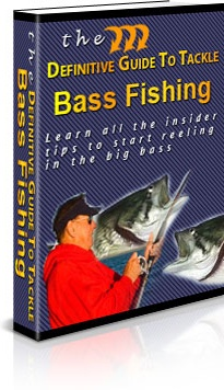 Ebook cover: The Definitive Guide To Tackle Bass Fishing