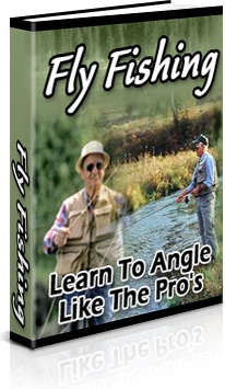 Ebook cover: Fly Fishing - Learn to Angle Like the Pro