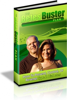 Ebook cover: The BetesBuster Plan