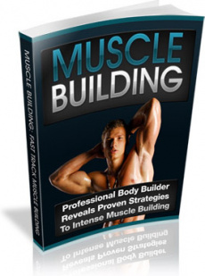 Ebook cover: Body Building: Get Ready To Get Ripped