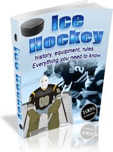 Ebook cover: Ice Hockey