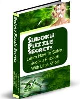 Ebook cover: Sudoku Puzzle Secrets