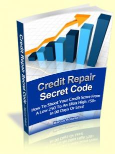 Ebook cover: Credit Repair Secret Code
