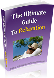 Ebook cover: The Ultimate Guide to Relaxation