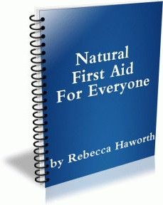 Ebook cover: Natural First Aid for Everyone