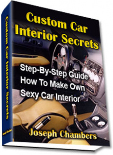 Ebook cover: Custom Car Interior Secrets