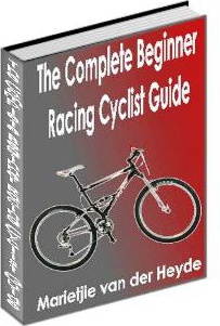 Ebook cover: The Complete Beginner Racing Cyclist Guide