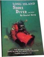 Ebook cover: Long Island Shore Diver