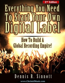 Ebook cover: Everything You Need To Start Your Own Digital Label