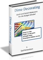 Ebook cover: Dime Decorating