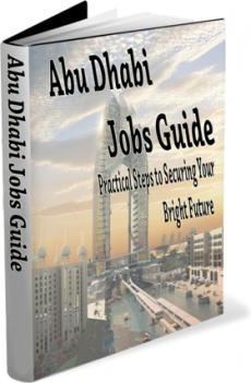 Ebook cover: Abu Dhabi Job Guide