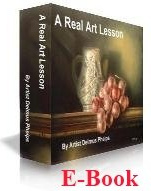 Ebook cover: A Real Art Lesson