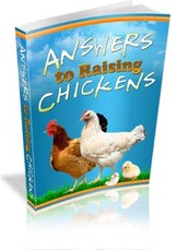 Ebook cover: Answers To Raising Chickens