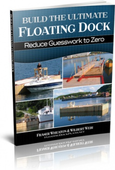 Ebook cover: Build The Ultimate Floating Dock