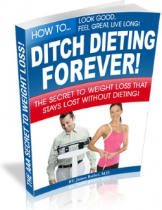 Ebook cover: Ditch Dieting Forever