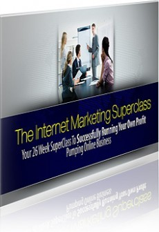 Ebook cover: The Internet Marketing Superclass