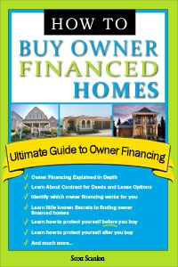 Ebook cover: How to Buy Owner Financed Homes