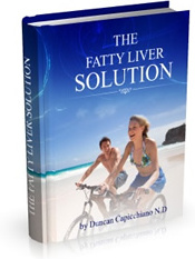 Ebook cover: The Fatty Liver Solution