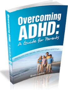 Ebook cover: Overcoming ADHD Guide for Parents