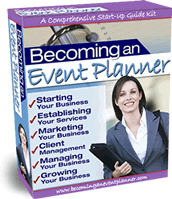 Ebook cover: Becoming an Event Planner