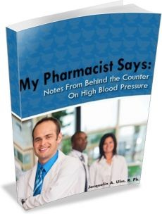 Ebook cover: My Pharmacist Says