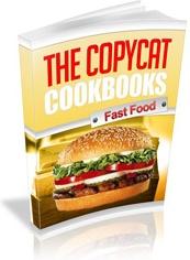 Ebook cover: The CopyCat Cookbooks