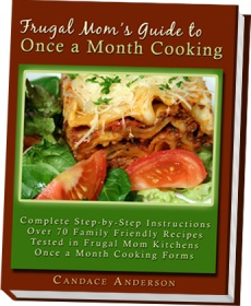 Ebook cover: Frugal Moms Guide to Once a Month Cooking