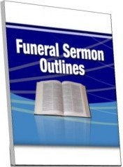 Ebook cover: Funeral Sermon Outlines