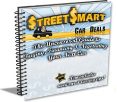 Ebook cover: Street Smart Car Deals