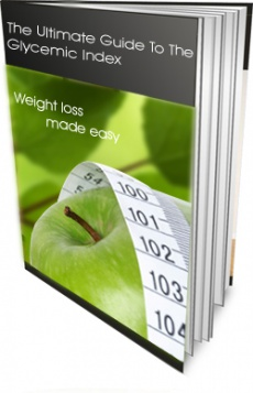 Ebook cover: Lose Weight with the Glycemic Index