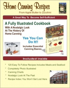 Ebook cover: Home Canning Recipes