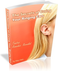 Ebook cover: The Secrets of Curing Your Ringing Ears