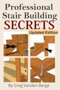 Ebook cover: Straight Stair Building