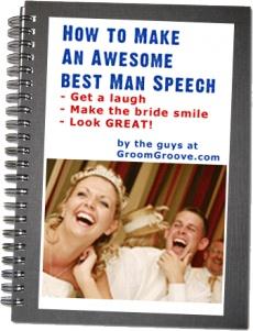 Ebook cover: Best Man Speech