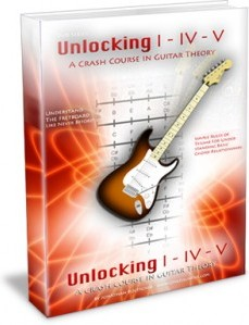 Ebook cover: A Crash Course in Guitar Theory