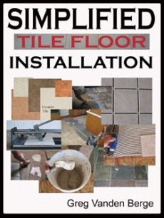 Ebook cover: Simplified Floor Tile Installation
