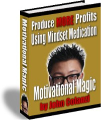 Ebook cover: Motivational Magic!