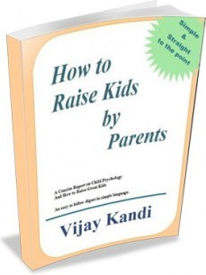 Ebook cover: How to Raise Kids by Parents