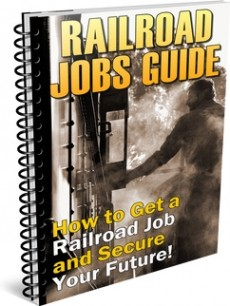 Ebook cover: Railroad Jobs Guide