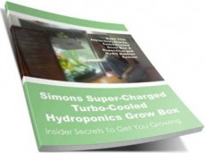 Ebook cover: Simons Super-Charged Turbo-Cooled Hydroponics Grow Box