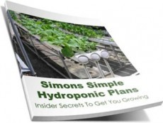 Ebook cover: Simons Simple Hydroponic Plans