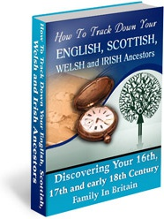 Ebook cover: How To Track Down Your Ancestors