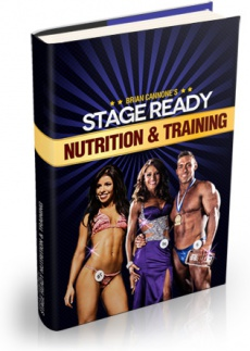Ebook cover: Stage Ready Nutrition & Training