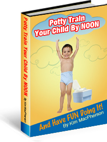 Ebook cover: Potty Train Your Child by NOON