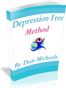 Ebook cover: Depression Free Method
