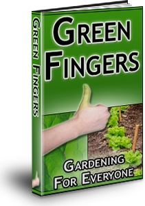 Ebook cover: Green Fingers: Gardening for Everyone