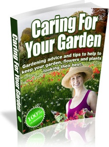 Ebook cover: Caring For your Garden