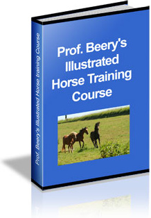 Ebook cover: Prof. Beery's Horse Training Course
